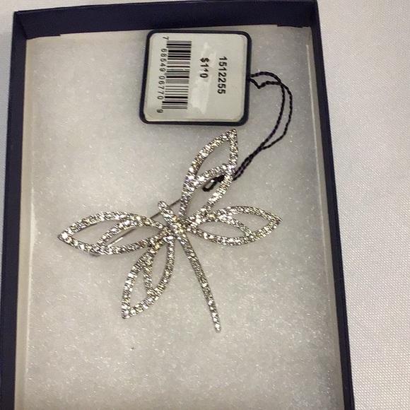 NWT Swarovski Dragonfly Crystal Pin